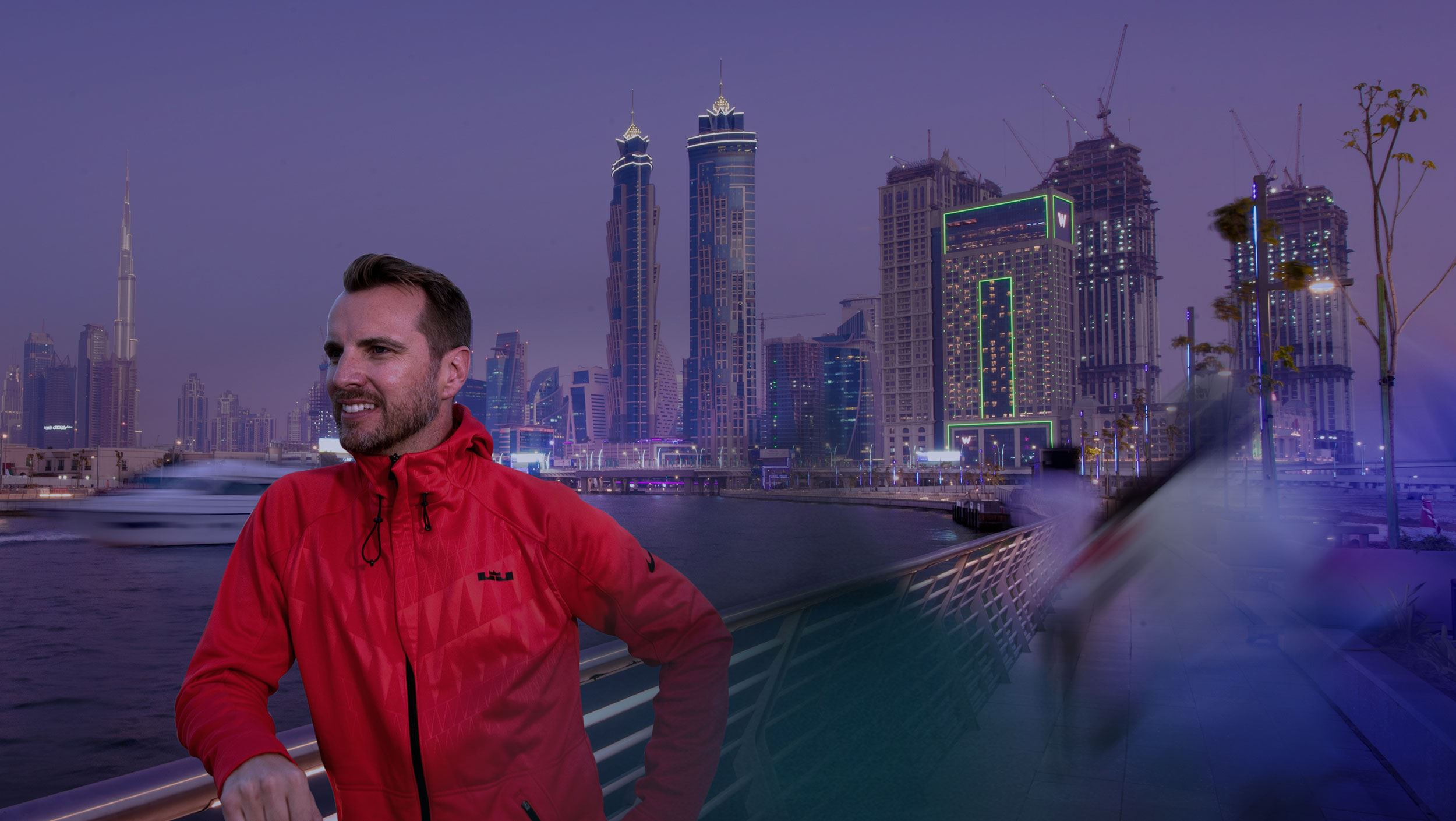 LIVING AND WORKING IN DUBAI